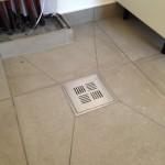 Fall mot sluk, vaskerom